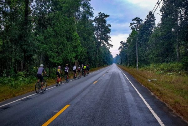 Cycling on the hills