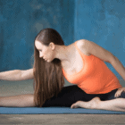 yoga for tight hamstring & hips